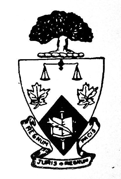 Original Law Coat of Arms