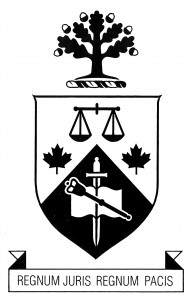 Modern Law Coat of Arms