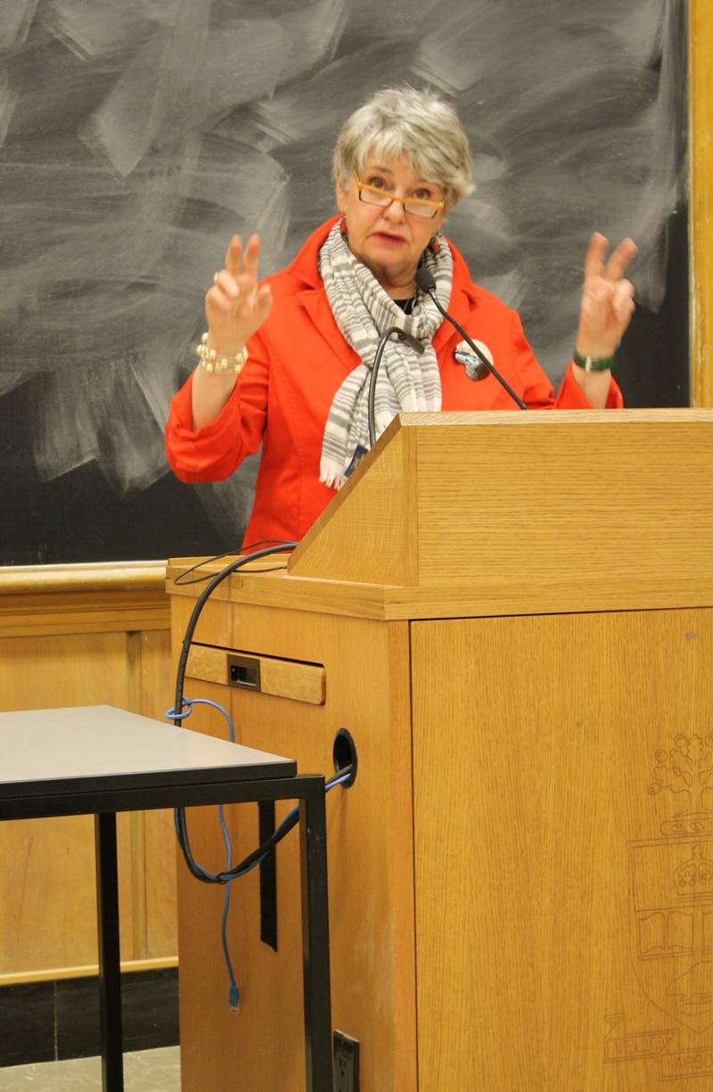 Barbara Kay Speaks At Ryerson