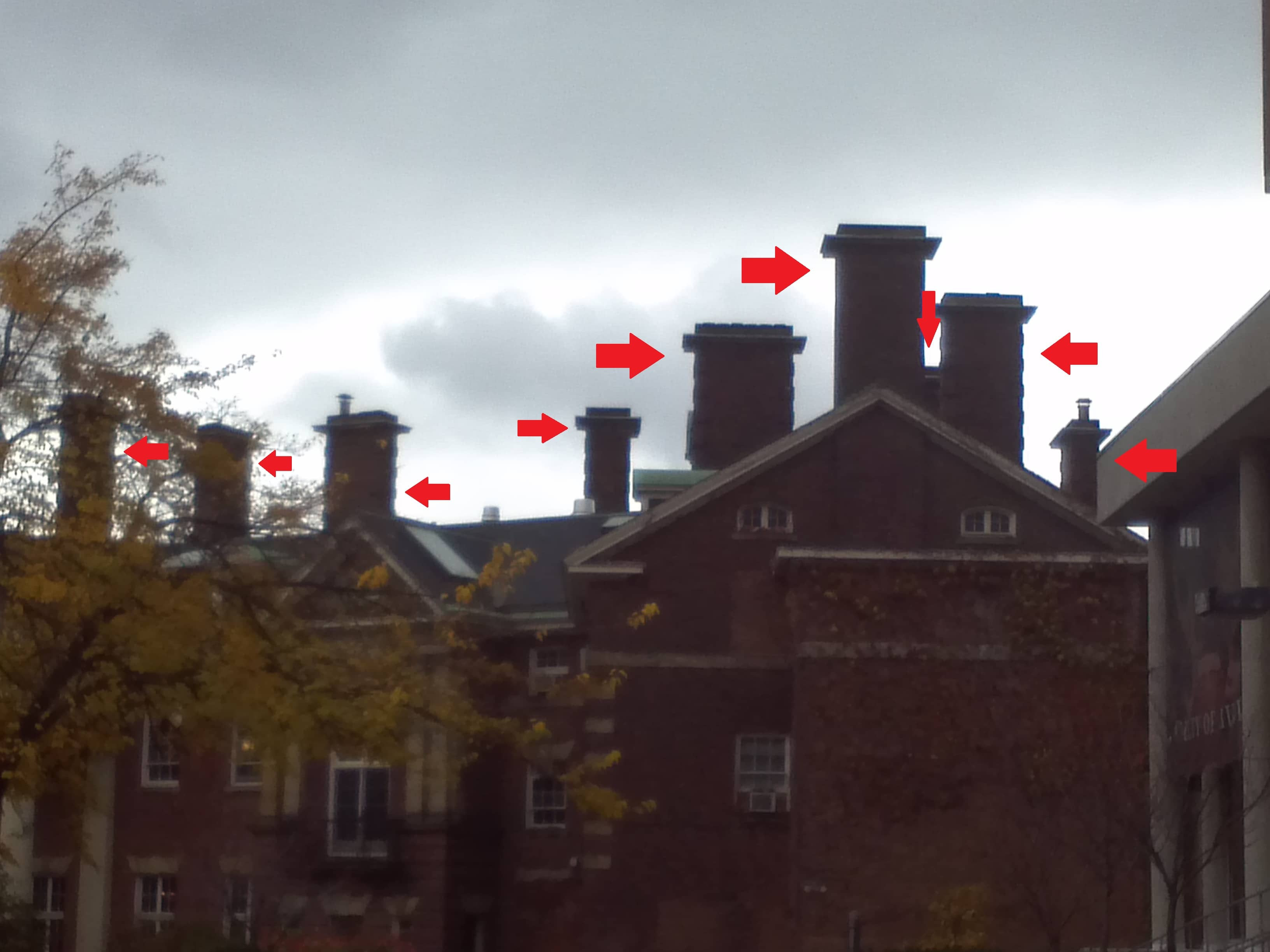 Flavelle House - Chimneys