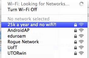 Where's the WiFi?