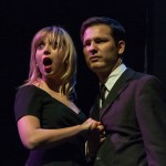 Daniella Murynka (2L) and Leo Elias (3L) perform in '50 Shades of Bay'