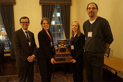 Arnup Cup (Ontario Trial Advocacy Competition) and the Sopinka Cup (National Trial Advocacy Competition) Team Members: Ryann Atkins, Anna Cooper Coaches: Rob Centa (Pallier Roland), Jonathan Shime (Cooper, Sandler, Shime...