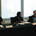 Panel of speakers on international opportunities for Canadian lawyers and firms, hosted by Stikeman Elliott.