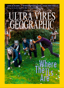 UV October 2013 Cover - National Geographic