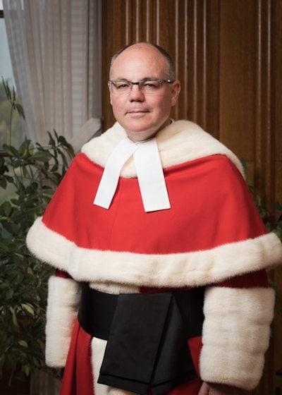 Justice Russell Brown, via scc-csc.ca