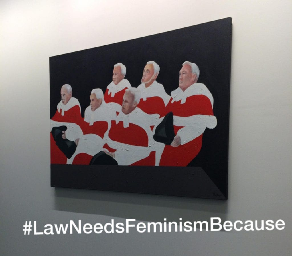 law needs feminism because